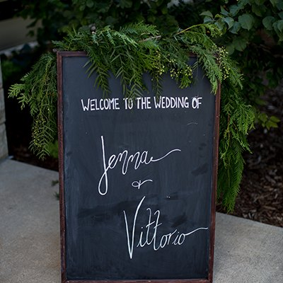 Real Wedding - Jenna (Cramer) & Vittorio Piantedos