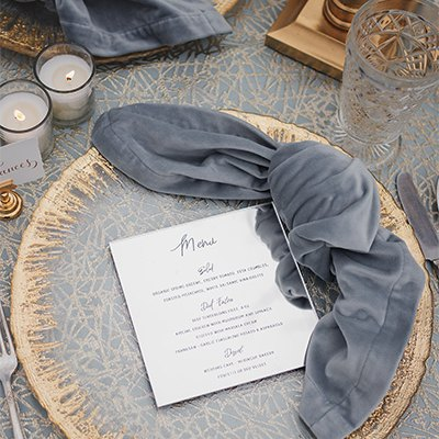 Wedding Inspiration - A Winter's Tale